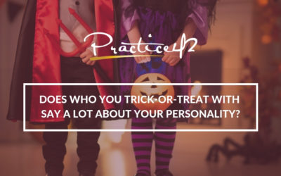 Does who you trick-or-treat with say a lot about your personality?
