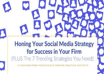 Honing Your Social Media Strategy for Success in Your Firm
