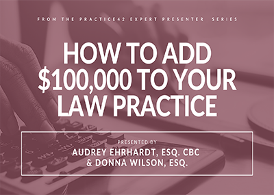 Want to Add $100,000 to Your Practice Next Year?