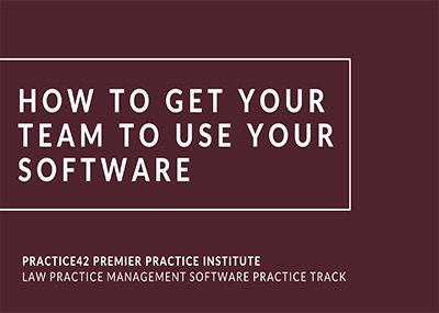 How to Get Your Team to Use Your Software