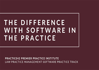 The Difference with Software in the Practice